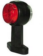 LED-äärivalo, kirkas/punainen 22051