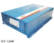 Siniaaltoinvertteri 12V-230V 1500W