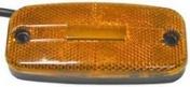 Led-äärivalo keltainen, heijastimella 0930