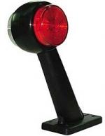 LED-äärivalo, vasen, kirkas/punainen 22055