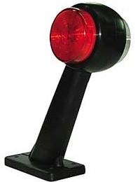 LED-äärivalo, oikea, kirkas/punainen 22056