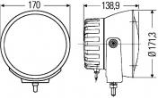 Hella Luminator Compact Xenon Integral 12 V