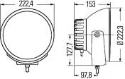 Hella Luminator Xenon Integral 1F8007560721