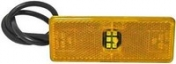 Led-äärivalo keltainen, heijastimella 4741R
