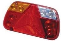 Led-takavalo 12-24V heijastinkolmiolla