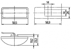Led lisävilkku sivulle 2BM008771007
