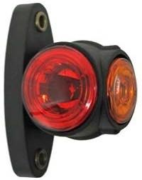 LED-äärivalo, kirkas/punainen/keltainen 6708
