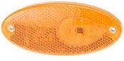 Led-äärivalo keltainen, heijastimella 141