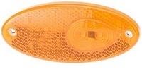 Led-äärivalo keltainen, heijastimella 131