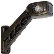 LED-äärivalo vasen, kirkas/punainen/keltainen 401114