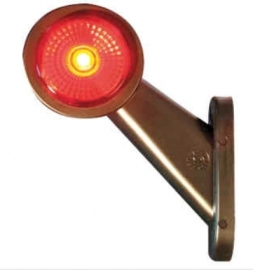LED-äärivalo vasen kirkas/punainen 401136