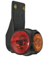 LED-äärivalo, kirkas/punainen/keltainen 6709