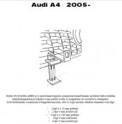 Lisävalojen Kiinnikesarja Audi A4 05-
