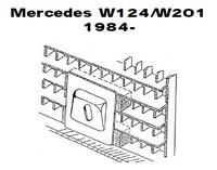 Lisävalojen Kiinnikesarja Mercedes W124/W201 54513