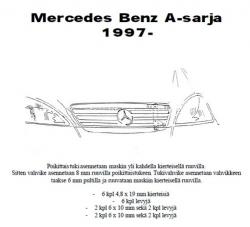 Lisävalojen Kiinnikesarja Mercedes A 97-01 54832