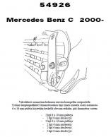 Lisävalojen Kiinnikesarja Mercedes C W203 54926
