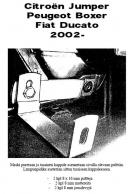 Lisävalojen Kiinnikesarja Fiat Ducato 02-