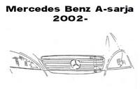 Lisävalojen Kiinnikesarja Mercedes A 6/02-03 54996