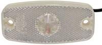 Led-äärivalo kirkas, heijastimella 1385