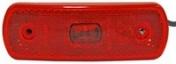 Led-äärivalo punainen, heijastimella 27313