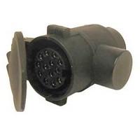 Perävaunupistokkeen adapteri 7-13