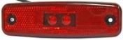 Led-äärivalo punainen, heijastimella 4822