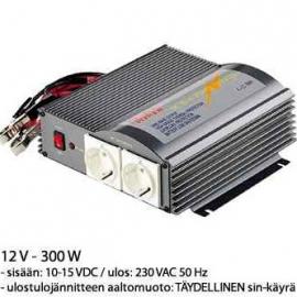 Invertteri 12V 230V 300W siniaalto