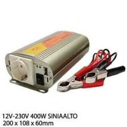 INVERTTERI 12V-230V 300W SINIAALTO