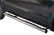 Kylkiputket askelmilla 76mm VW Amarok