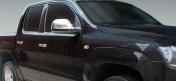 VW Amarok peilin kromikuoret