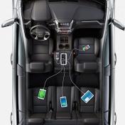 Anker PowerDrive 5 autolaturi 5 porttia