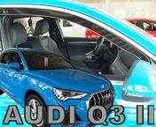 Audi Q3 2018- tuuliohjaimet