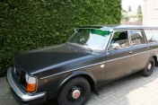 Aurinkolippa Volvo 140 Classic