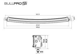 Led-työvalopaneeli Bullpro 300W 300446
