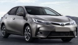 Takapuskurin suoja Toyota Corolla 2016-18 XI E160