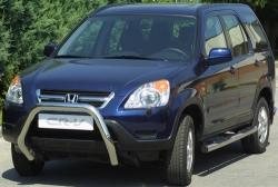 Kylkiputket askelmilla 76mm Honda CR-V 2002-2004 GP/137/IX