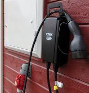 CTEK Njord GO -sähköautojen latauslaite