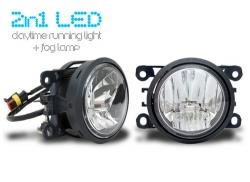 LED-huomivalot ja sumuvalo yhdistelmä