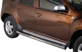 Kylkiputket askelmilla 76mm Dacia Duster 2010- GP/272/IX