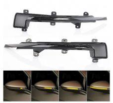 Sivupeilien dynaamiset LED sivuvilkut VW Golf Sportsvan 2014-17