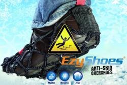 EzyShoes-turvaverkko liukastumista vastaan