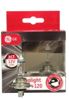 GE H7 12V 55W Ultra Mega Light +120% (2 kpl)