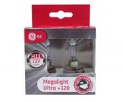 GE H11 +120% Megalight Ultra (2kpl)