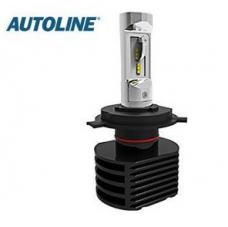 H4 teho LED-polttimo 25W 12V