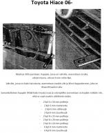 Lisävalojen Kiinnikesarja Toyota Hiace 06-