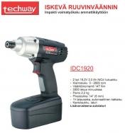 Techway iskevä ruuvinväännin IDC1920