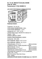 Intelligent invertteri 5000W 12V