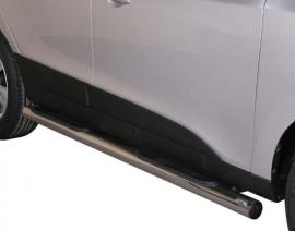 Kylkiputket askelmilla 76mm Hyundai IX35 GP/264/IX
