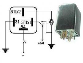 Jaksorele 12V 1100-0502