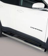 Kylkiputket askelmilla Jeep Compass 2017-